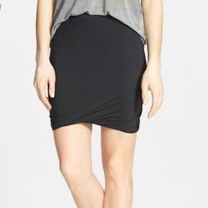 Anthropologie Leith Twist Bodycon Mini Skirt